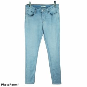 📣2/36$📣 LEVI'S 711 Skinny light wash jeans